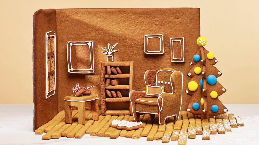 IKEA gingerbread interior