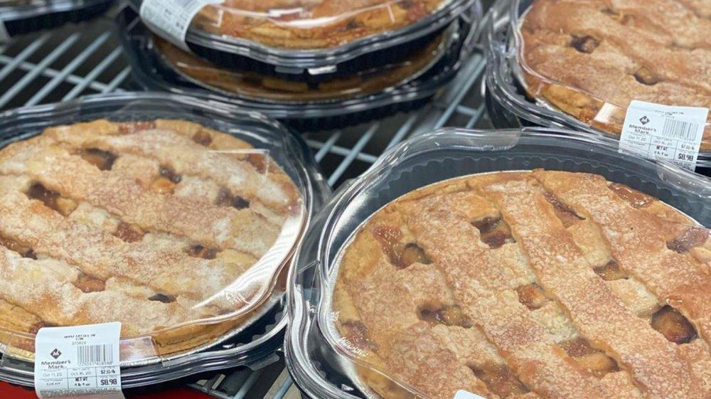 Sam's Club apple lattice pies