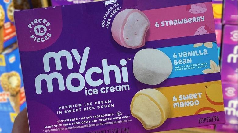 My Mochi ice cream box