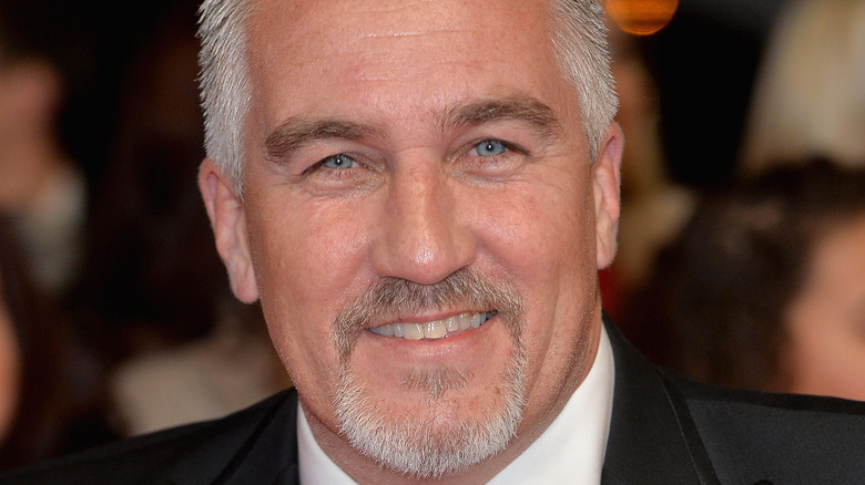 Close up of Paul Hollywood smiling