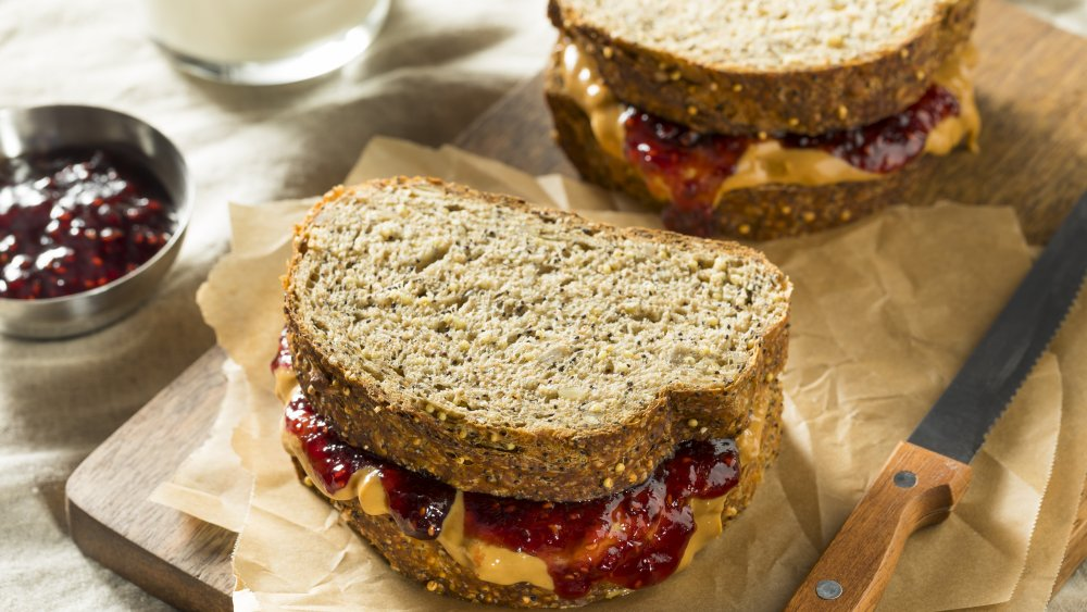 classic peanut butter and jelly