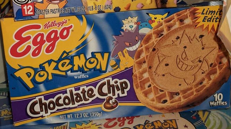 Pokémon chocolate chip Eggo waffles