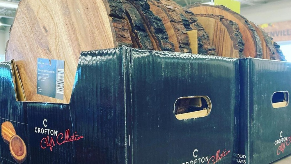 Aldi rustic serving tray, Crofton