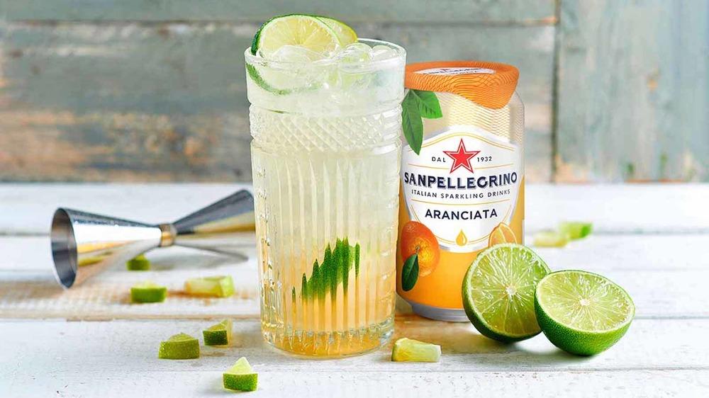 San Pellegrino Aranciata sparkling beverage