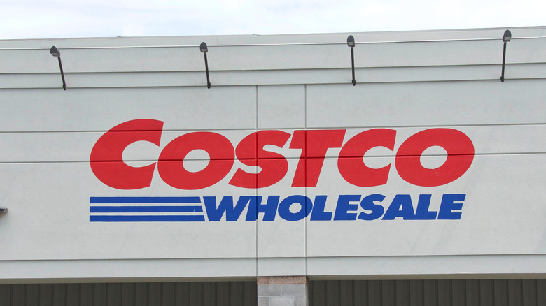 Costco sign storefront exterior
