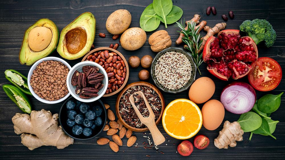 Magnesium-rich fruits, veggies, and fish