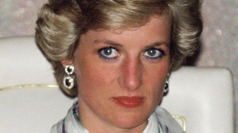 Princess Diana at event