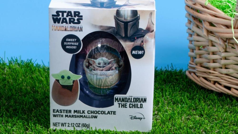 Baby Yoda easter egg bomb