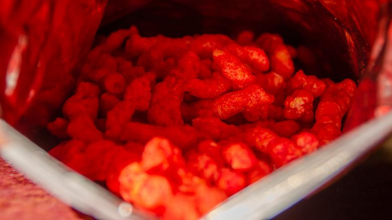 Flamin' Hot Cheetos bag