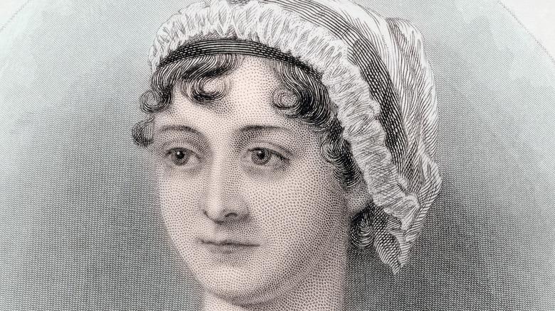 Portrait of a young Jane Austen