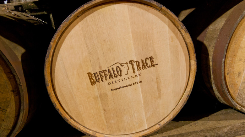 Buffalo Trace bourbon barrel