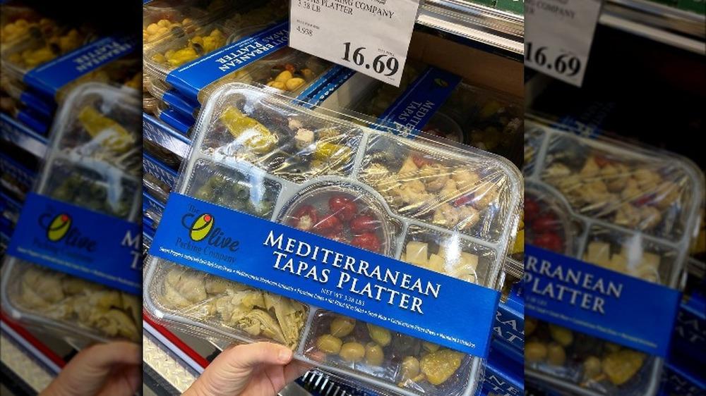 Costco Mediterranean platter