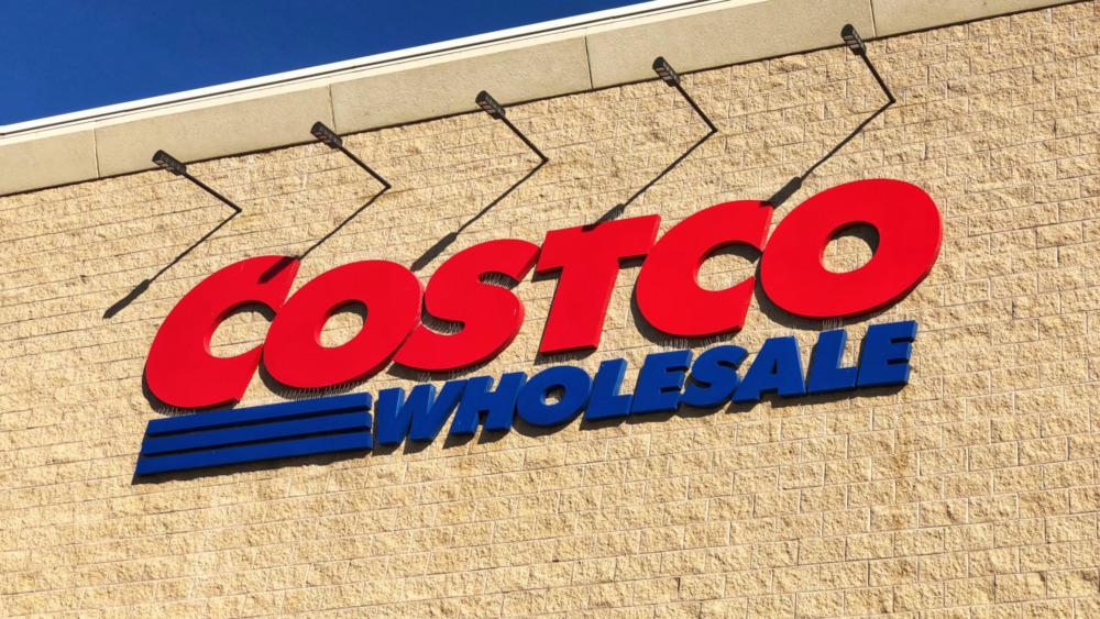 A Costco Wholesale sign