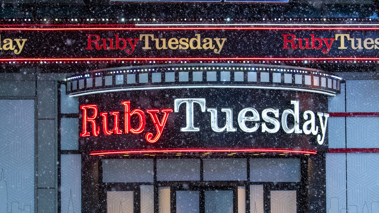 closed ruby tuesday location