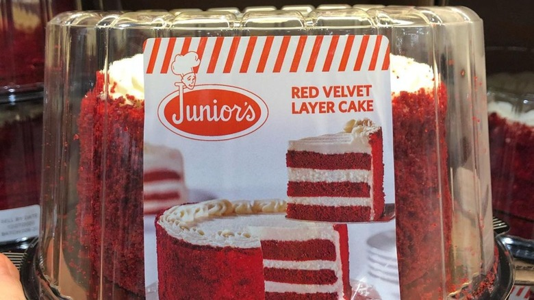 Junior's Red Velvet Layer Cake, Costco