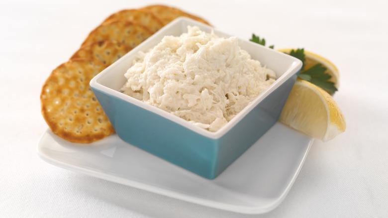 crab spread dish
