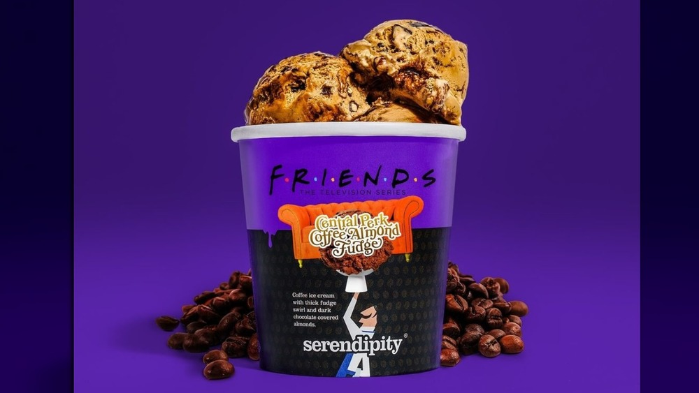 Friends-themed ice cream from Serendipity