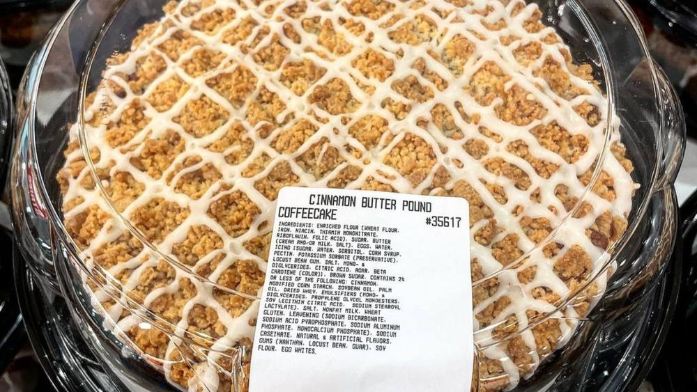 cinnamon butter pound coffee cake