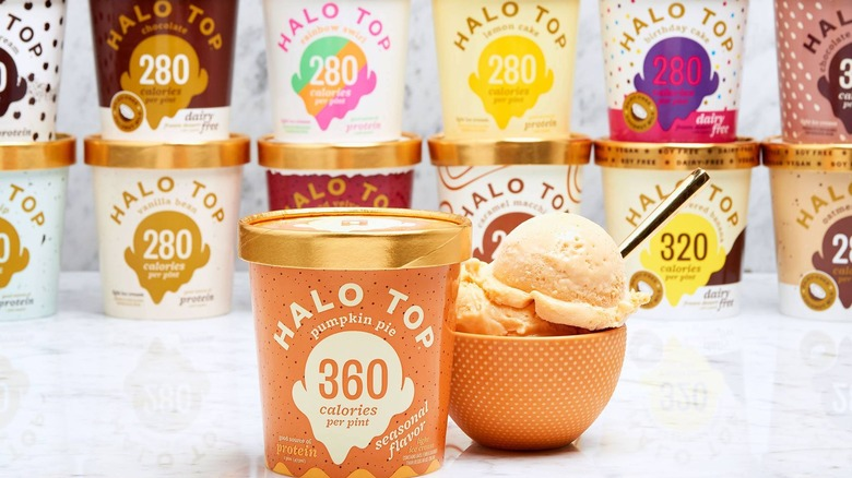 Halo Top Pumpkin Pie ice cream