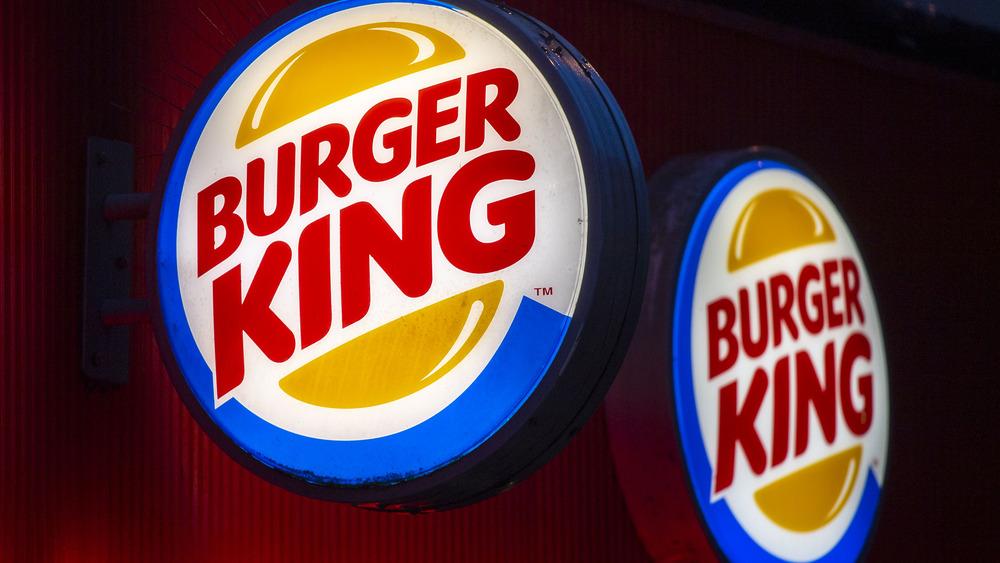 Burger King logo in circular shape