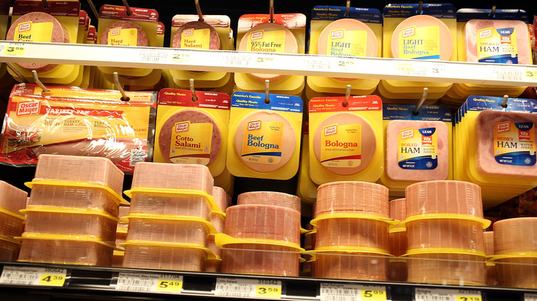 Bologna and other processed meats