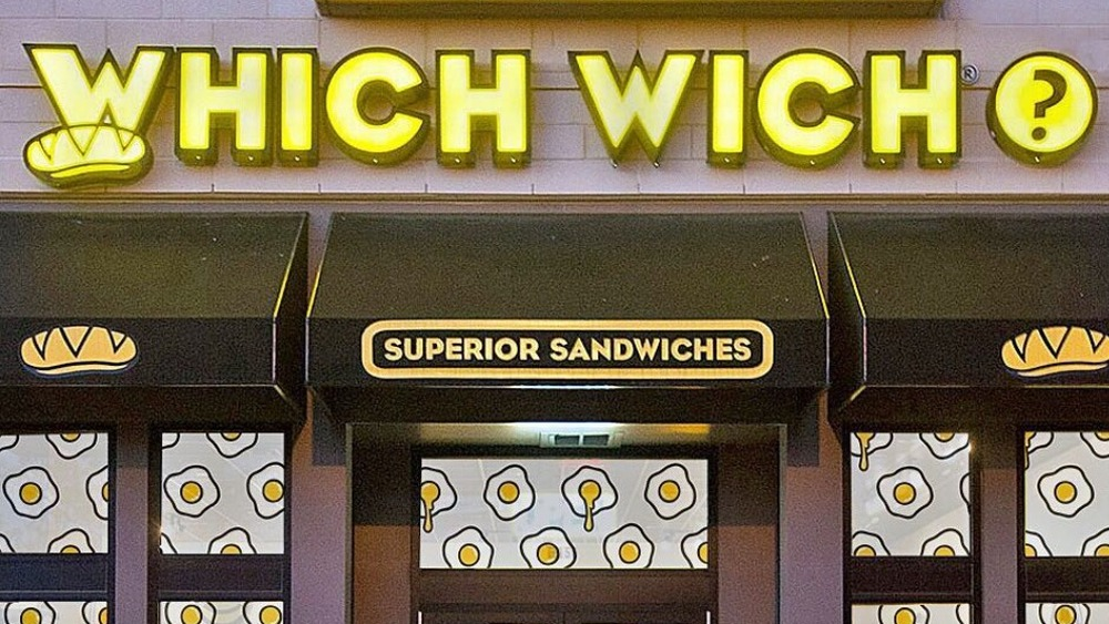 Glowing Which Wich sign