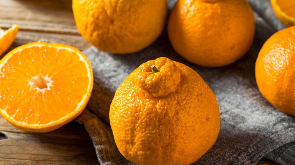 Japanese Sumo oranges