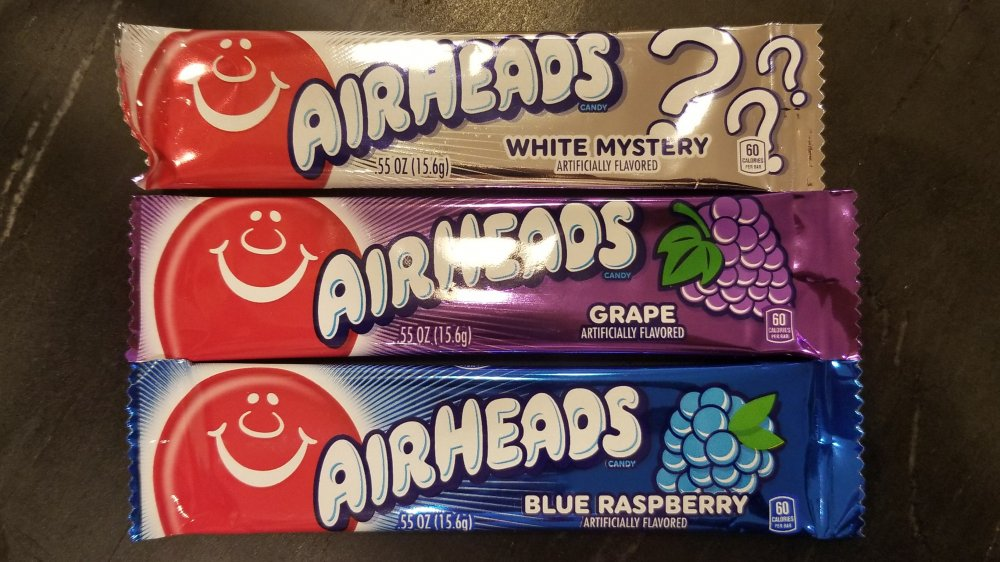 Different flavor Airheads