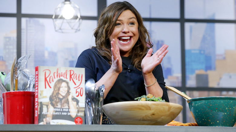 Rachael Ray excited