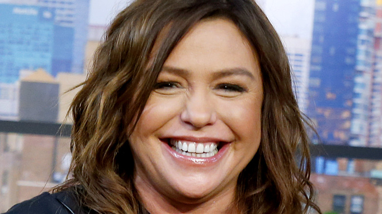 Rachael Ray cooking on television show