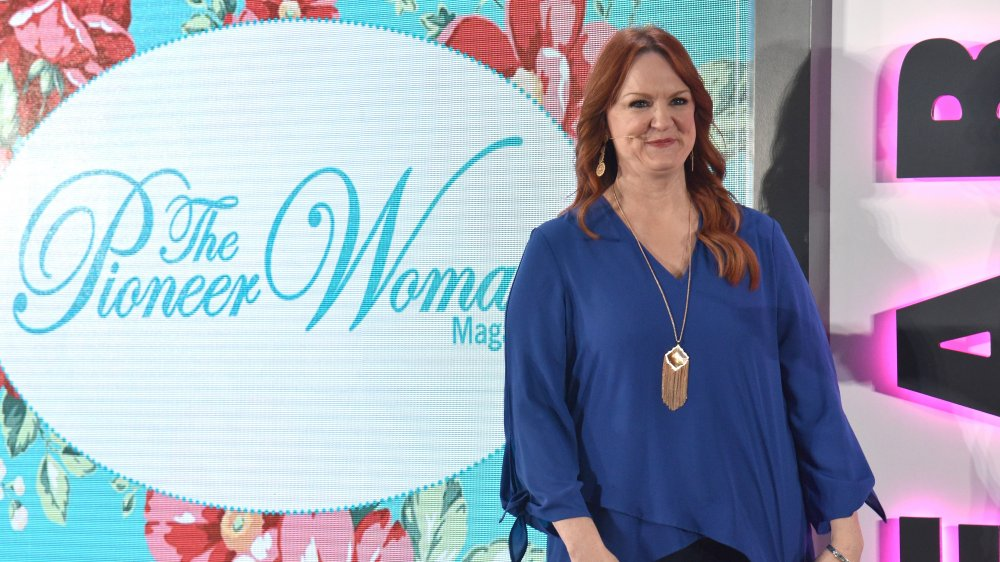 Ree Drummond and scrambled eggs