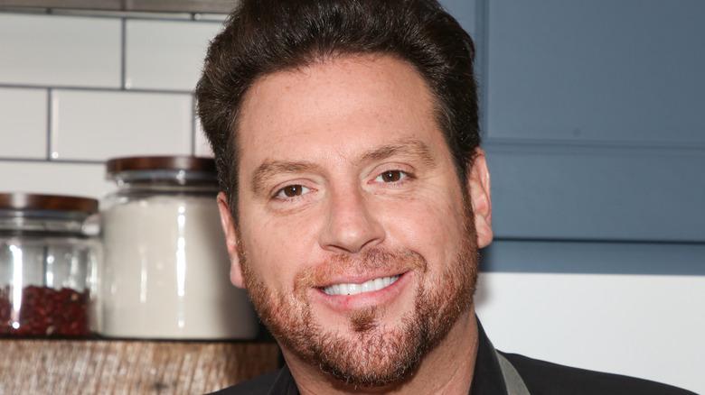 Scott Conant smiling