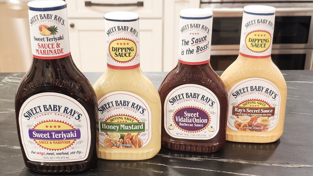 Sweet Baby Ray's sauces and marinades