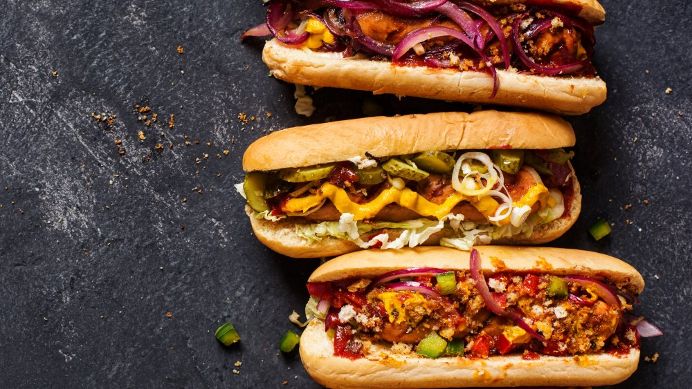 A generic photo of hot dogs
