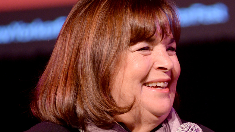 Ina Garten smiling at event