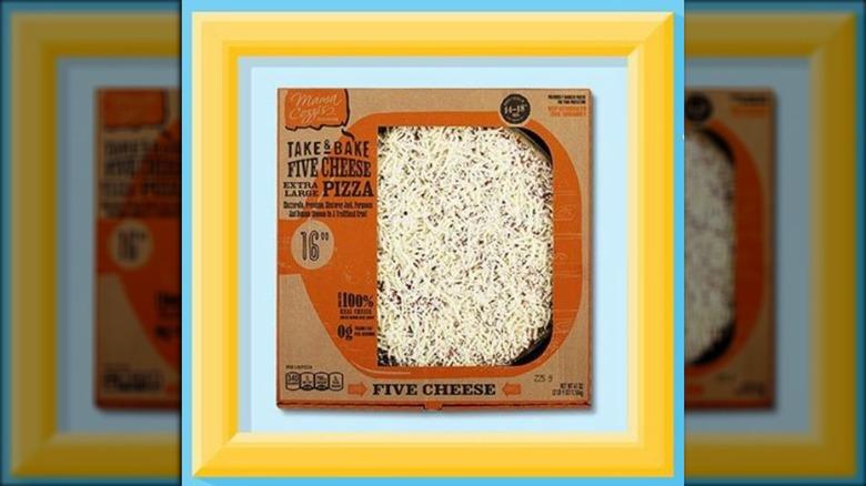 Aldi brand Mama Cozzi's Take & Bake Deli Pizza