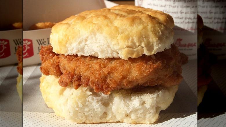 Chick-fil-A Chicken Biscuit