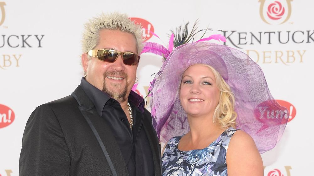 Guy FIeri with wife Lori Fieri