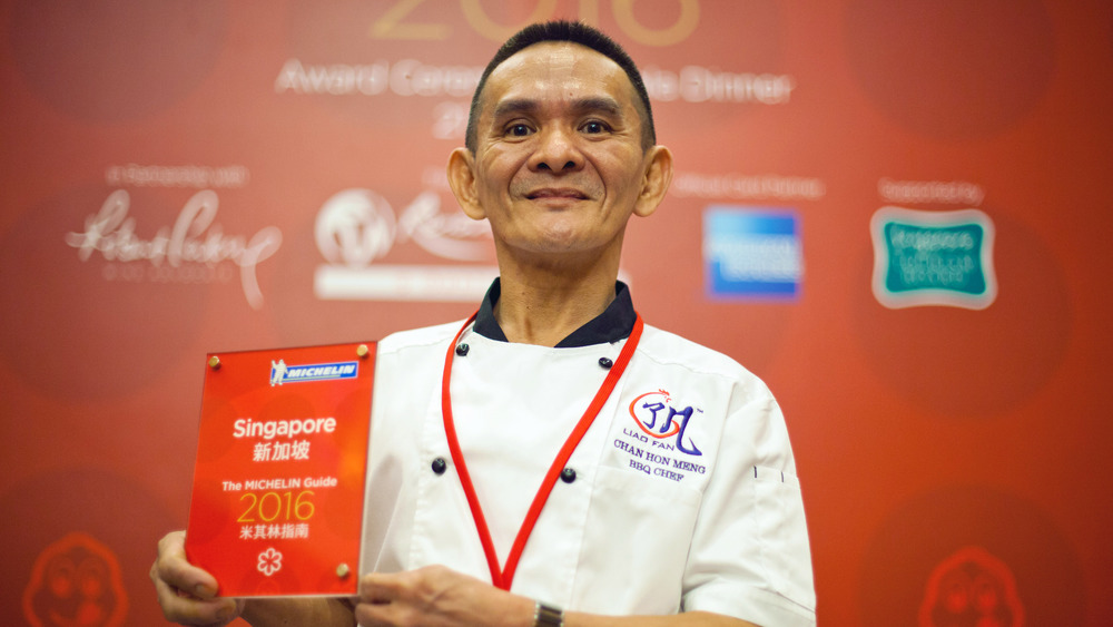Chan Hon Meng with Michelin star