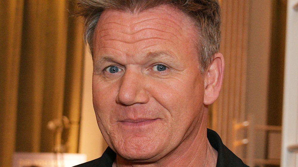 Gordon Ramsay from Hell's Kitchen close-up