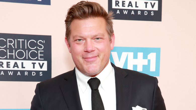 Tyler Florence in a suit