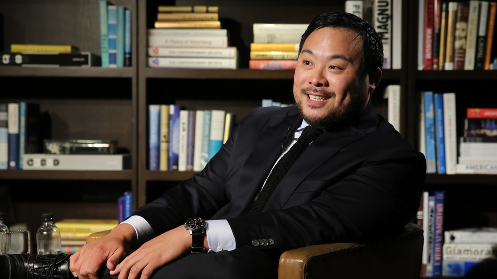 A portrait of chef David Chang