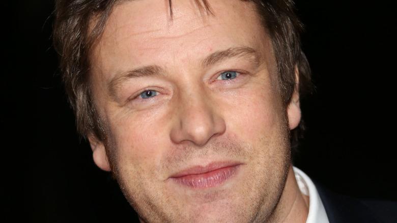 Close-up of Jamie Oliver smiling