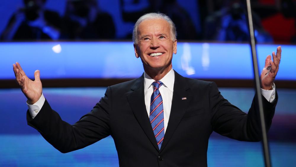 Joe Biden Triumphant