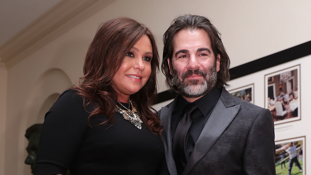 Rachael Ray with her husband