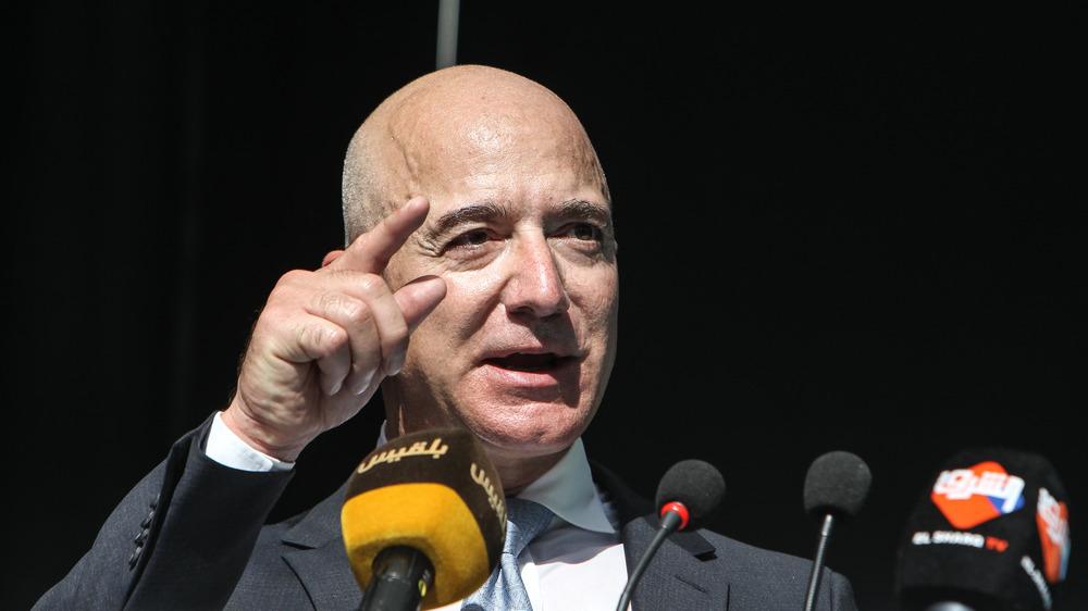 Jeff Bezos talking