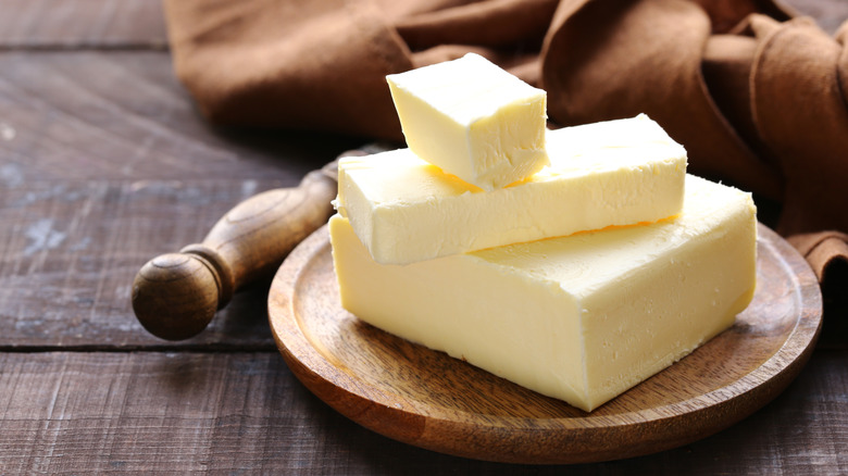 High-quality butter