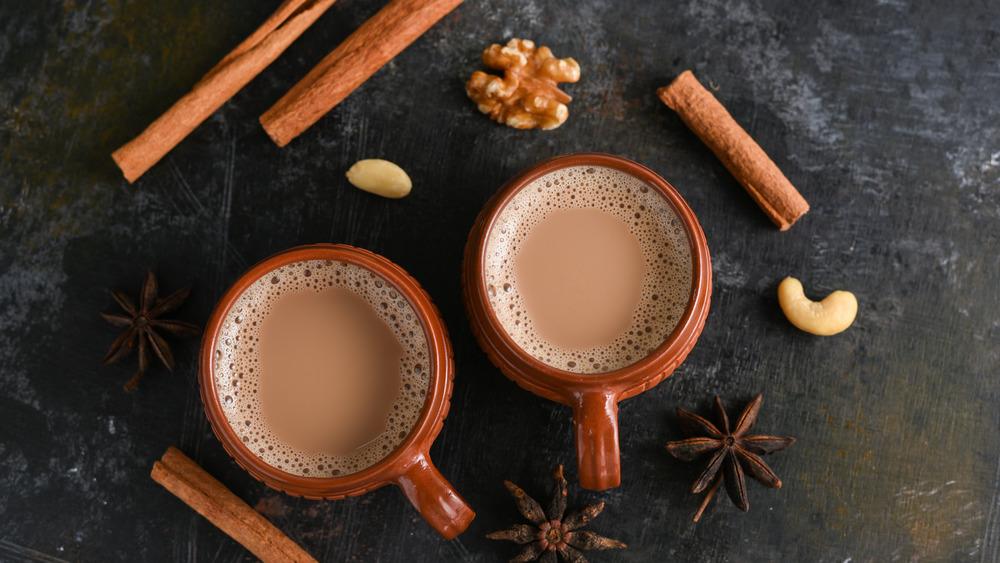 Mugs of chai