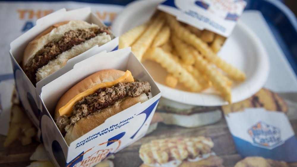 White Castle meal