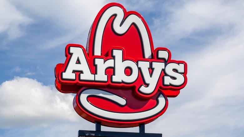 Arby's restaurant sign